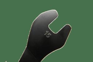 Voxom 15er Pedalschluessel Nahaufnahme freigestellt