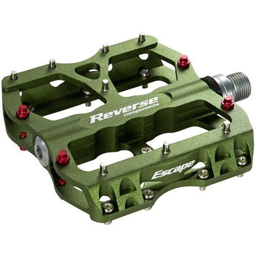 reverse escape pin pedale grün