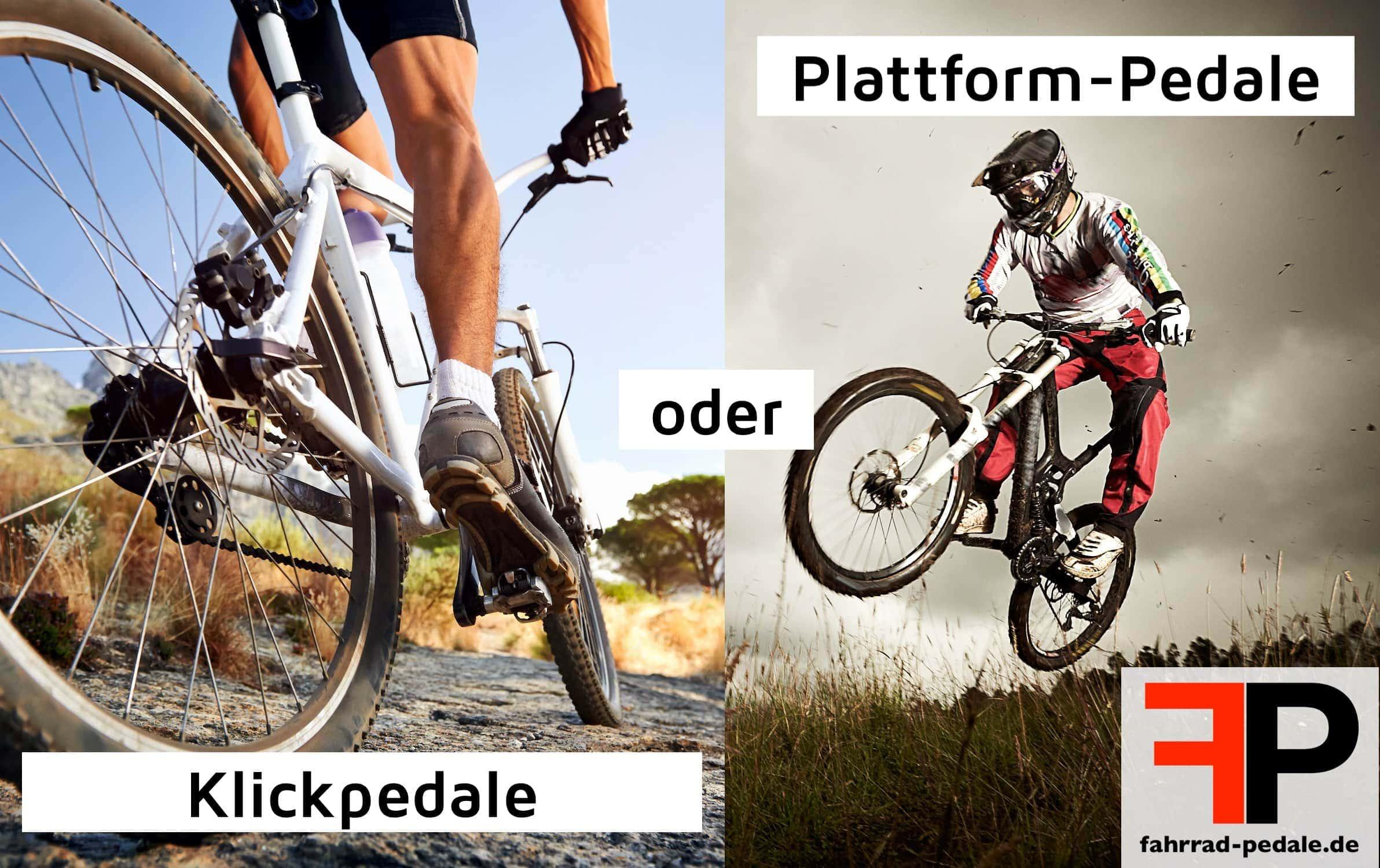 klickpedale vs normale pedale welche sind effizienter