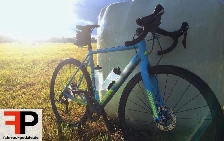 cyclocross-pedale fahrrad blau