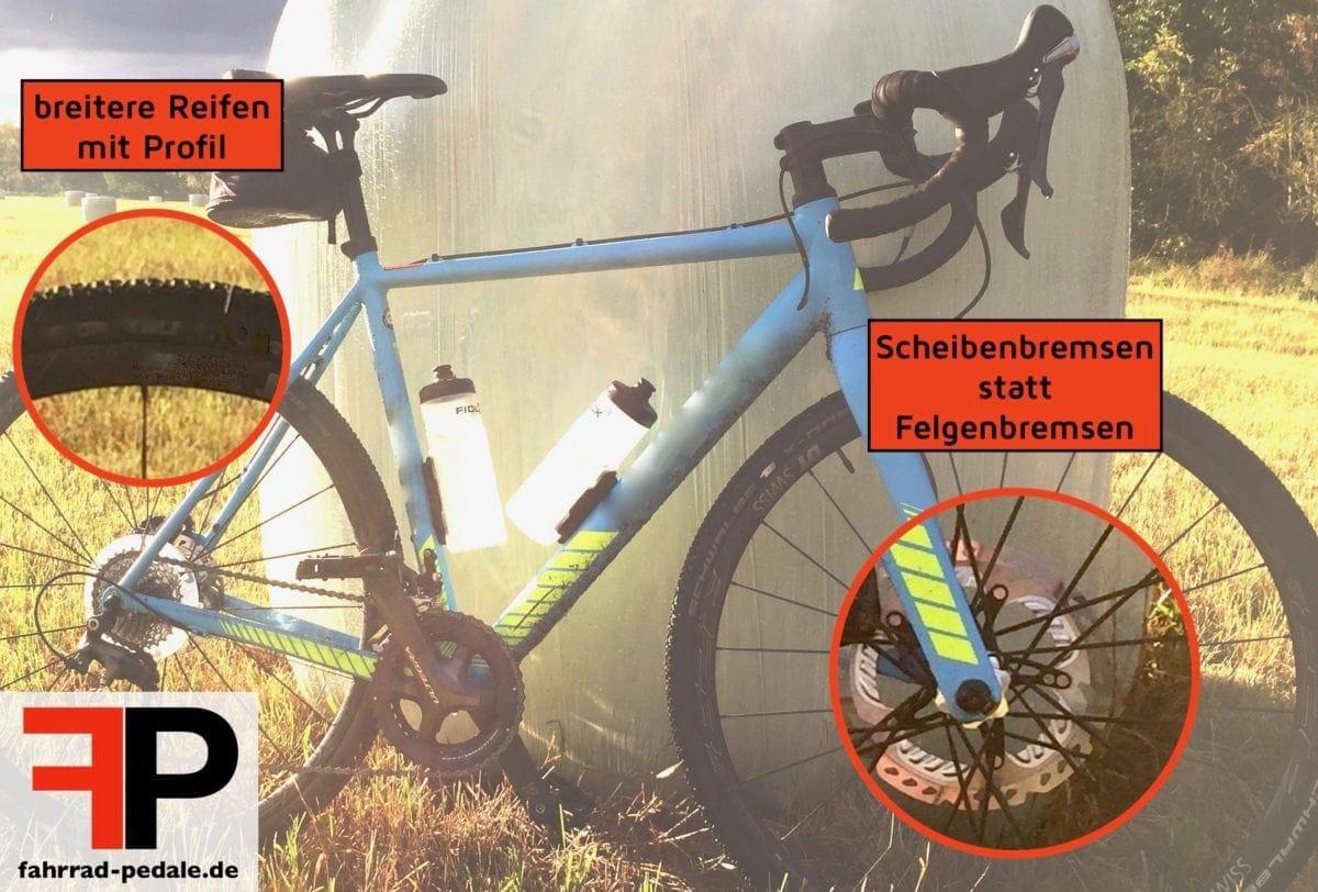 cyclocross unterschied zu rennrad