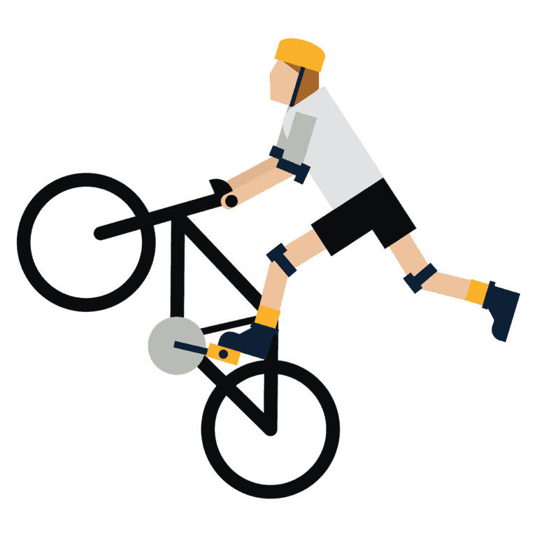 fahrradfahrer icon
