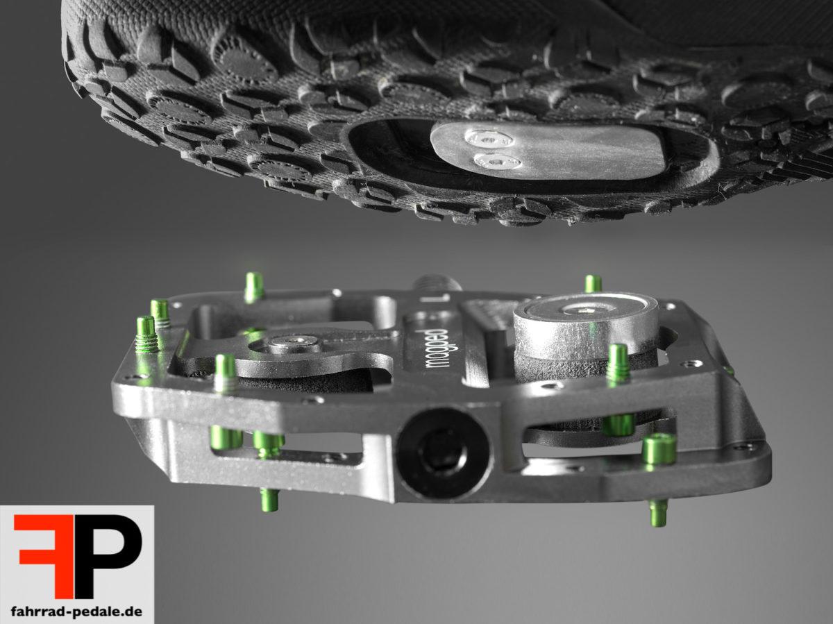magped enduro pedalplatten cleats system
