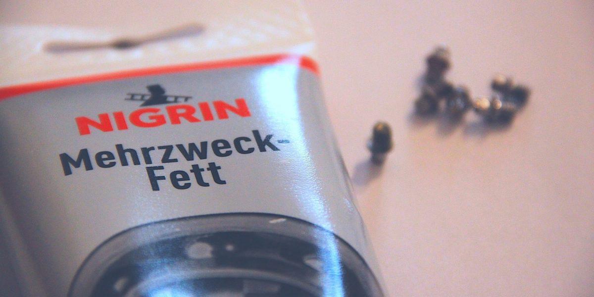 NIGRIN Schmierfett für Pins Pin-Pedale