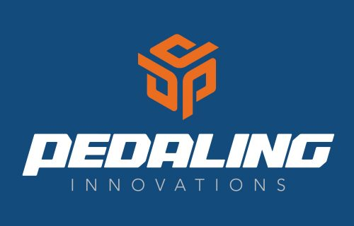 PEDALING INNOVATIONS Logo blue blau